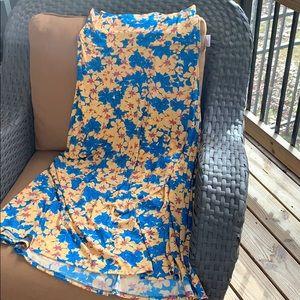 NWOT  LuLaRoe maxi skirt size large